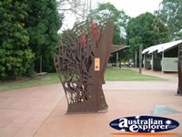 Metal Sculptures in Childers . . . CLICK TO ENLARGE