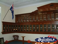 Childers Soldiers Memorial Wall Display . . . CLICK TO ENLARGE