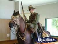 Winton Waltzing Matilda Centre Horse and Soldier . . . CLICK TO ENLARGE