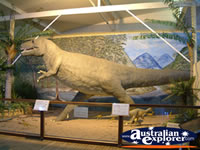 Dinosaur at Winton Corfield & Fitzmaurice Centre . . . CLICK TO ENLARGE
