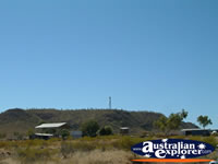 Mt Isa View from Road Into Town . . . CLICK TO ENLARGE