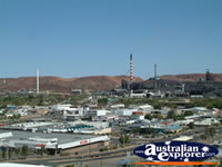 Mt Isa from Lookout . . . CLICK TO ENLARGE