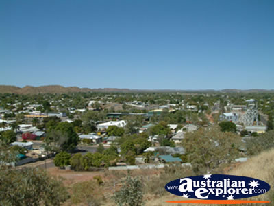 Mt Isa Landscape from Lookout . . . CLICK TO VIEW ALL MT ISA POSTCARDS