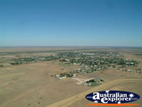 Longreach View from Helicopter of Town . . . CLICK TO ENLARGE