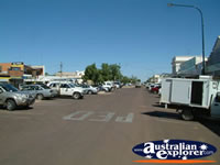 Main Street in Longreach . . . CLICK TO ENLARGE