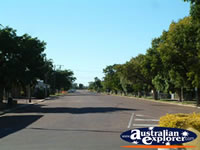 Empty Barcaldine Street . . . CLICK TO ENLARGE