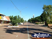 Barcaldine Main Street . . . CLICK TO ENLARGE