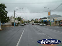 View Down Gayndah Street . . . CLICK TO ENLARGE