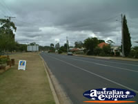 Wondai Tourist Information Centre Street . . . CLICK TO ENLARGE