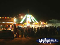 Carnival in Springsure at Night . . . CLICK TO ENLARGE