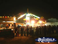 View at Night of Springsure Show . . . CLICK TO ENLARGE