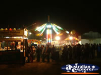 Show in Springsure at Night . . . CLICK TO ENLARGE