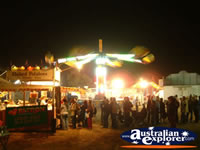 Springsure Show Crowd at Night . . . CLICK TO ENLARGE