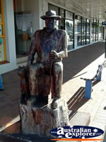 Close Up of Nanango Statue . . . CLICK TO ENLARGE