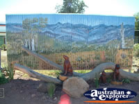 Jandowae Memorial Mural . . . CLICK TO ENLARGE