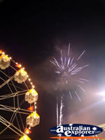 Tully Show Ferris Wheel and Fireworks . . . CLICK TO ENLARGE