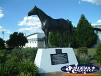 Oakey Statue of Bernborough Race Horse . . . CLICK TO ENLARGE