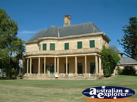Great shot of the Dalby Jimbour House . . . CLICK TO ENLARGE