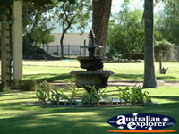 Water fountain at the Dalby Jimbour House . . . CLICK TO ENLARGE