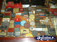 Miles Historical Village Tins . . . CLICK TO ENLARGE