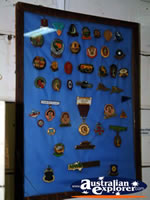 Patch Display Miles Historical Village . . . CLICK TO ENLARGE