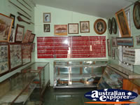 Miles Historical Village One of Many Display Rooms . . . CLICK TO ENLARGE