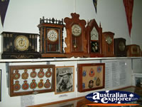 Miles Historical Village Clocks . . . CLICK TO ENLARGE