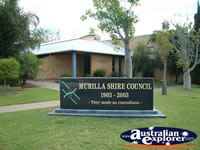 Miles Murilla Shire Council Sign . . . CLICK TO ENLARGE
