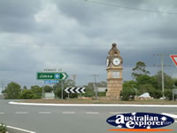 Kilcoy Town Clock . . . CLICK TO ENLARGE