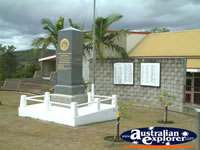 Kilcoy War Memorial . . . CLICK TO ENLARGE