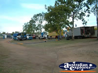 Springsure Show Setting Up . . . CLICK TO ENLARGE