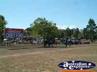 Floats Arriving at Showgrounds in Chinchilla . . . CLICK TO ENLARGE