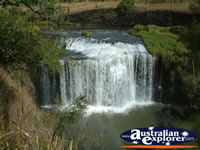 Ravenshoe Millstream Falls Close Up . . . CLICK TO ENLARGE