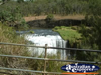 View of  Millstream Falls in Ravenshoe . . . CLICK TO ENLARGE