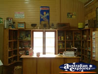 Surat Cobb & Co Changing Station Shelves with Collectables . . . CLICK TO ENLARGE