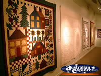 Cobb & Co Changing Station in Surat Quilt Display . . . CLICK TO ENLARGE