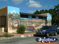 Mt Morgan Mural . . . CLICK TO ENLARGE