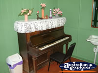 Mt Morgan Railway Station Piano . . . CLICK TO ENLARGE