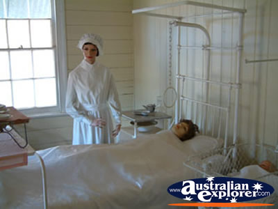 Miles Historical Village Hospital Room Photograph Miles