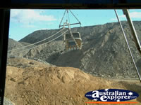 View of Norwich Park Mine Dragline . . . CLICK TO ENLARGE
