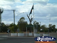 Croydon Road Sign and Australian Flag . . . CLICK TO ENLARGE
