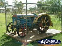 Cunnamulla Old Tractor in Park . . . CLICK TO ENLARGE