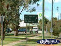 Cunnamulla Road Sign . . . CLICK TO ENLARGE