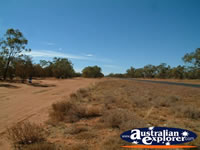 View of Road Between St George & Cunnamulla . . . CLICK TO ENLARGE