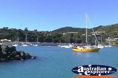 Airlie Beach Abel Point Marina Sailing . . . CLICK TO VIEW ALL AIRLIE BEACH (MARINAS) POSTCARDS