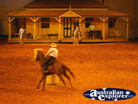 Australian Outback Spectacular Parading Horses . . . CLICK TO ENLARGE