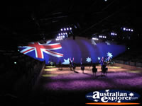 Australian Outback Spectacular Australian Flag . . . CLICK TO ENLARGE