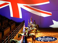 Australian Outback Spectacular Horses on Show . . . CLICK TO ENLARGE