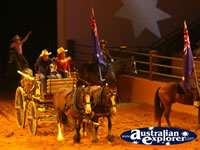 Australian Outback Spectacular Horse Entrance . . . CLICK TO ENLARGE
