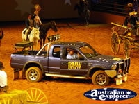 Australian Outback Spectacular Ute . . . CLICK TO ENLARGE